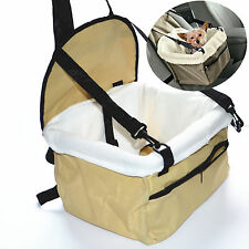 Lookout Small Dog Car Seat Pet Safety Booster Seat Foldable Bed House For BMW