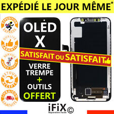 ECRAN IPHONE X OLED LCD VITRE TACTILE SUR CHÂSSIS + OUTILS + FILM PROTECTION