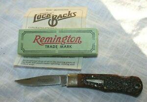 REMINGTON BABY BULLET LOCK BACK KNIFE R1173L