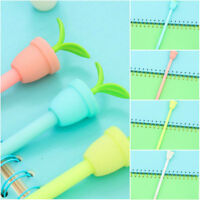 6Pcs Cute Cartoon potted plant Gel Pens Office School Student Supply Stationery