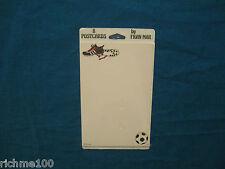 Vintage Sealed 8 Postcards Sport Soccer Football illustrated by Artist Fran Mar