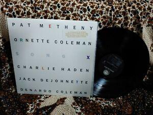 Pat Metheny/Ornette Coleman LP Song X Geffen GHS 24096 Promo