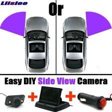 "Car LCD Folding 4.3"" Monitor Display + Side View Parking Camera Night Blind Spot"