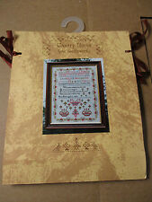 "Country Yarns Sampler Cross Stitch Kit Manchester England 12"" x 16"" NIP"