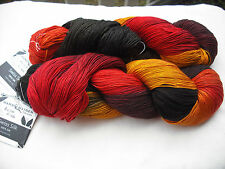 Handmaiden 100% Swiss Mountain Silk Knitting Yarn, 100g x 400m