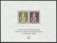 BERLIN 40/41 STEPHAN AUSSTELLUNGS-BLOCK UPU-KONGRESS HAMBURG 1984 m1841