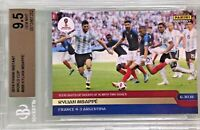 Kylian Mbappe 2018 Panini Instant World Cup Teen Lights 1/228 BGS 9.5 Gem Mint