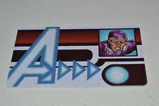 Marvel Heroclix Age of Ultron Machine Man ID Card LE AUID-009