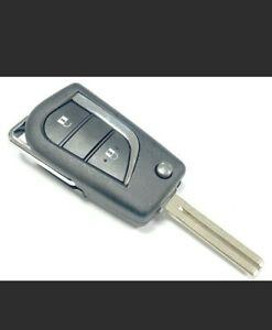 FULL remote key fob for Citroen c1 /Peugeot 108/Toyota Aygo 433mhz  2014-2017