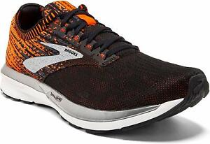 Brooks Mens Ricochet Running Shoes Trainers Sneakers Black Sports Breathable