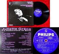 LP Juliette Greco á la Philharmonie de Berlin