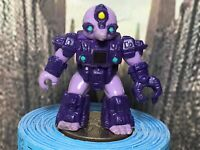 Vintage Hasbro Takara Battle Beasts MINER MOLE #42 Purple 1987 Working Rub
