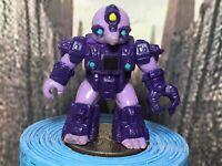 Vintage Hasbro Takara Battle Beasts MINER MOLE #42 Purple 1987 Working Rub