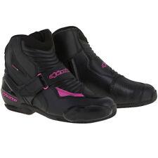 Alpinestars botas moto mujer Stella Smx-1 R negro fucsia Rosa 36
