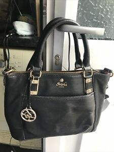 Sasha London Black Handbag Brand /shoulder Bag New Unused