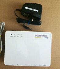 BT OPENREACH ECI FIBRE OPTIC MODEM ROUTER VDSL FTTC SALE Same Day Dispatch