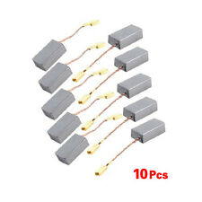 "5 Pair 9/16"" x 5/16"" x 1/5"" Motor Carbon Brushes for Bosch Angle Grinder LW SZUS"