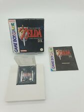 RARE NEW Nintendo Game boy Gameboy ZELDA LINK'S AWAKENING DX Boxed BOITE OVP EUR