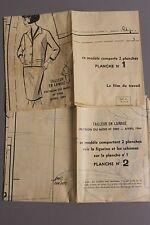 """ MODES & TRAVAUX "" PATRON AVRIL 1964 + PATRON enfant A10"
