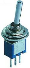 Mikroschalter, Micro Kippschalter, Minischalter Einbauschalter, EIN/AUS/EIN  S25