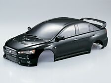 1/10 RC Car BODY Shell MITSUBISHI EVOLUTION Lancer #48134 *FINISHED* -BLACK-