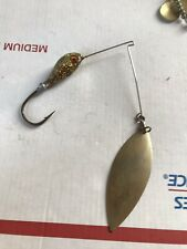 Jig Head glitter Fishing Lure with spoon Hook Used