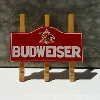 Danbury Mint -  BUDWEISER SIGN tin metal wood garage farm diorama - 1/24 Scale