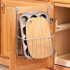 Kitchen Cupboard Basket Organizer Pantry Cabinet Door Cutting Board Storage