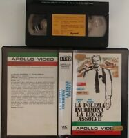 La Polizia Incrimina La Legge Assolve (VHS - Apollo Video International) Usato
