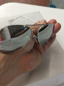 Ray ban sunglasses men silver gray