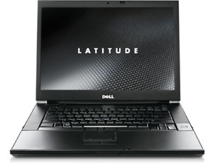 """PC Portable Dell Latitude E6500, 14"""", Core 2 Duo, 500 Go, 4 Go, Windows 10,  25"""