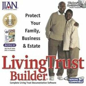 Jian LivingTrust Builder  Complete Living Trust Documentation Software  NEW