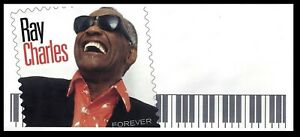 USA. Envelope. Ray Charles. With imige of FOREVER stamp. Mint.
