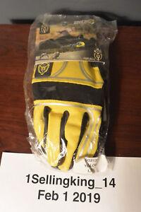 Brand New Sector 9 BHNC sliding gloves (Yellow)