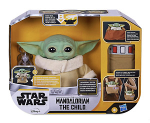 Disney Star Wars The Mandalorian The Child Animatronic Toy with Carrier New
