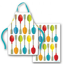 NEW Spoonful Spoons Apron and Tea Towel Set