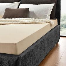 neu.haus® Drap-housse 140-160x200 Beige / Crème 100% coton
