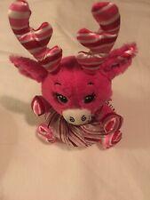 Build A Bear Workshop Bab Buddies Christmas Holiday Pink Moose Reindeer Clothes