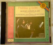 Perahia Lupu - Mozart/Schubert: Four Hand Piano Works CD