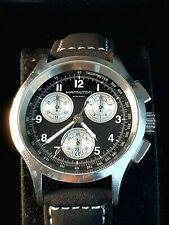 Montre Hamilton Khaki Chronographe H764120 Homme Sapphire Crystal