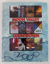 "2000 Yearbook Moon Valley High School ""Countdown"" Vol 35 Glendale Arizona AZ"