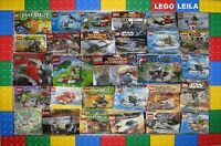 LEGO SETS STAR WARS DC MARVEL CITY AVENGERS FRIENDS DISNEY ETC (lot 1) POLYBAGS