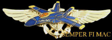 US NAVY BLUE ANGELS PILOT WINGS F18 USS MARINES PIN