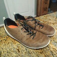 Ecco Biom Size 45 11 Brown Leather Suede Mens Grip Urbaneering Sneaker