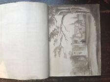 Victorian Scrap Album Lithographs, Prints, Pencil Sketches Quality Engravings