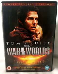 War Of The Worlds DVD (2 Disc Special Edition) Steven Spielberg 2005 Tom Cruise