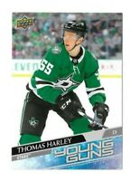 2020-21 UPPER DECK OVERSIZED #227 THOMAS HARLEY YG UD YOUNG GUNS STARS