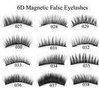 4Pcs Triple Magnetic False Eyelashes Extension Tools Full Coverage Lashes Thick