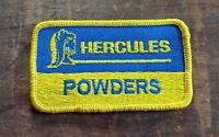 "3 1//2/"" x 2/"" Blue /& Yellow Details about  /Vintage NOS Hercules Powders Patch"