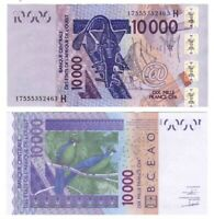 UNC NIGER 10000 West African Francs (2003) P-618H